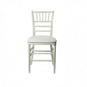 White Chavari Chair Rental