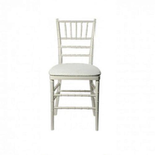 White Chavari Chair Rental