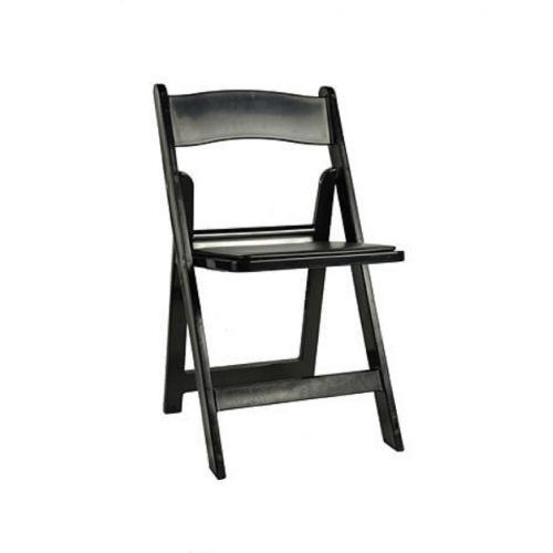 Chair Rental: Black Padded Garden Chair