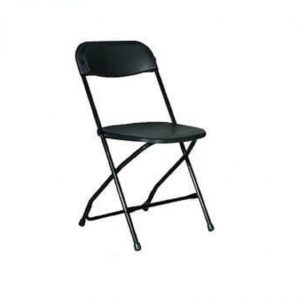 Black Standard Folding Chair