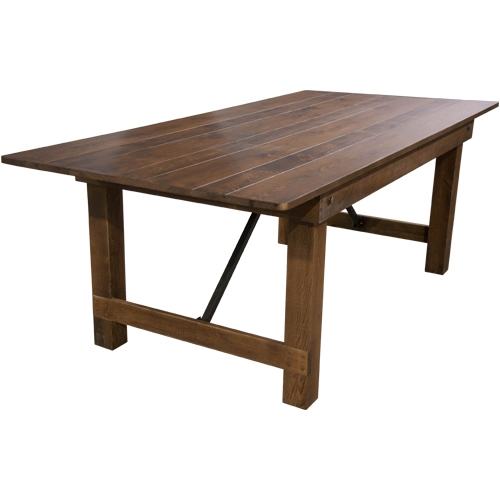 Farm Table Rental pricing