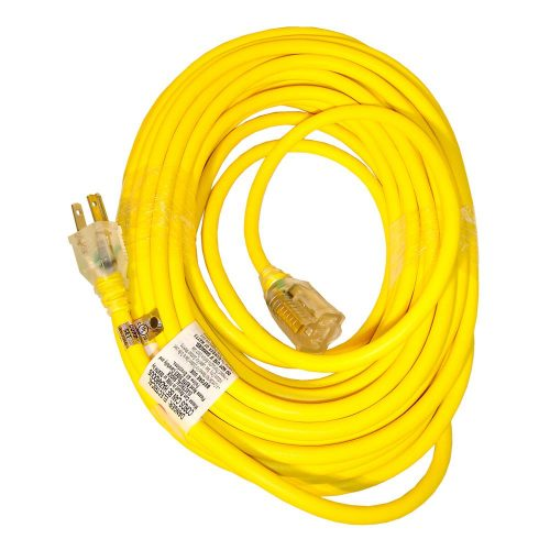 50ft Yellow Extension Cord