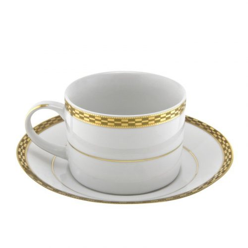 Athens Gold Cup and Saucer