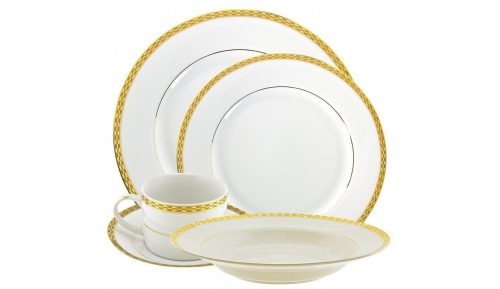 Athens Gold Dinner Collection
