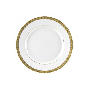 Athens Gold Salad and Dessert Plate