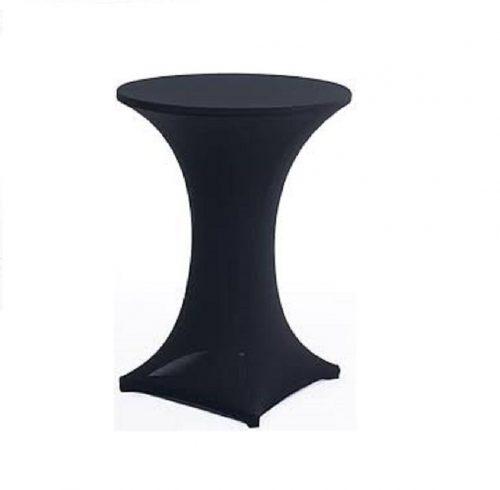 Black Spandex Cocktail Table