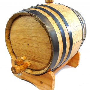 5 Gallon Charred American Oak Aging Barrel