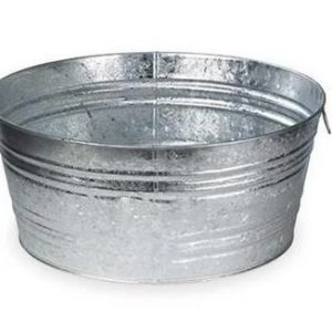 Galvanized Tub Rental
