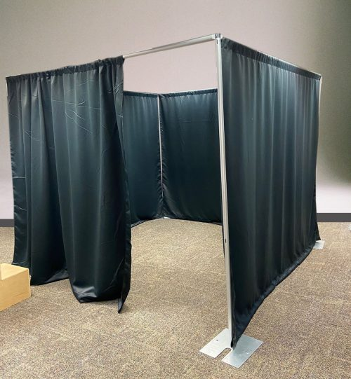 Pipe and Drape Room Divider