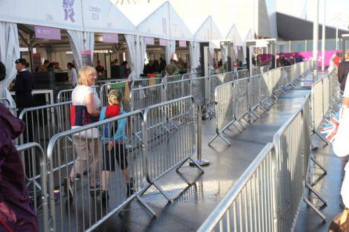 8ft Steel Interlocking Barricades