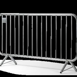 Steel Interlocking Barricades Rental