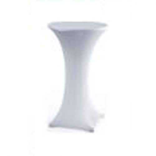 White Spandex Cocktail Table