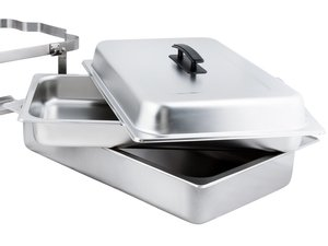 Chafer pans and lid
