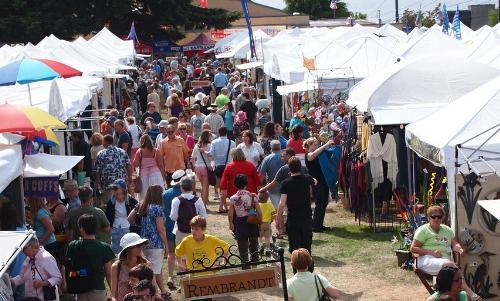 Art Fair Tent Booths 10x10 Event Rental Service