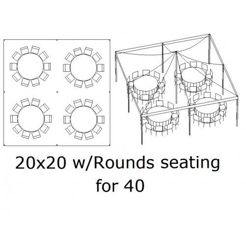 20x20 Seating 40