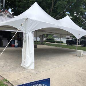 20x40 Graduation Tent