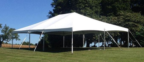 30x30 JumboTrac Lite Frame Tent
