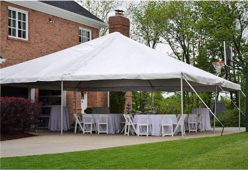 30x30 frame tent