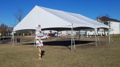 30x30 Gable Frame Tent