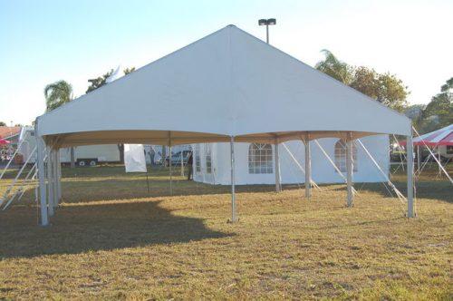 30x45 JumboTrac Lite Gable Frame Tent