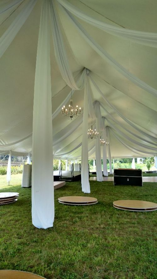 40x100 canopy tent- wedding