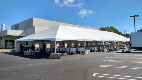 40x100 JumboTrac Frame Tent Rental