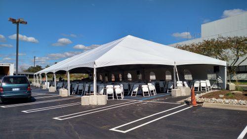 40x120 Frame Tent