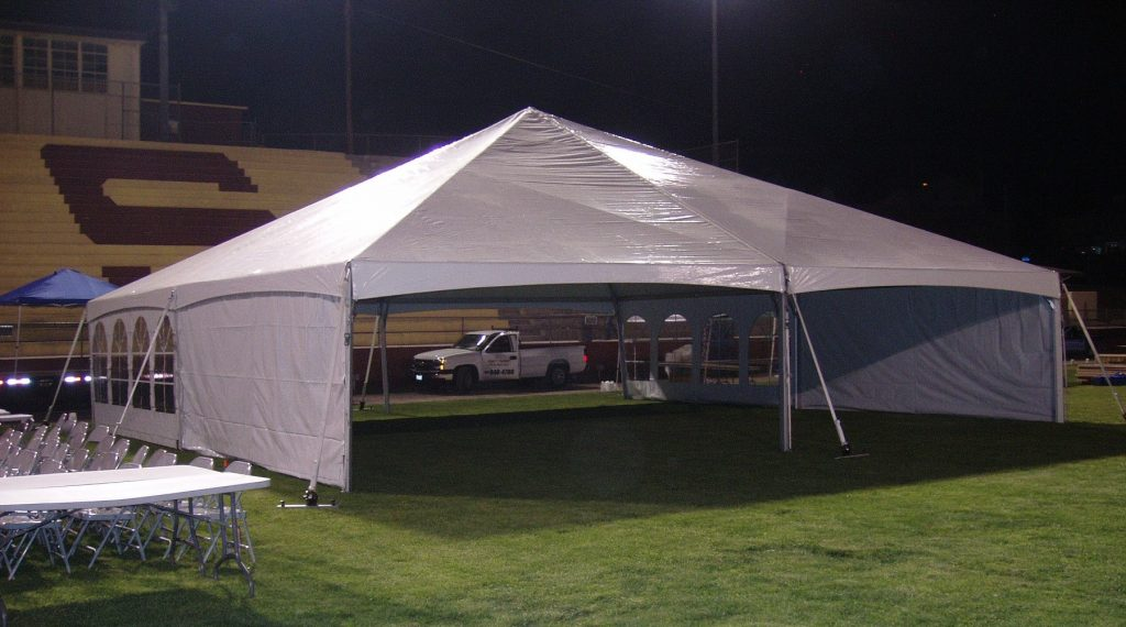 40x40 JumboTrac Frame Tent