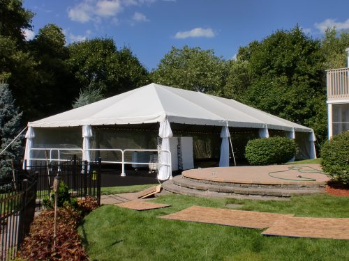 40x80 Clear Span Frame Tent