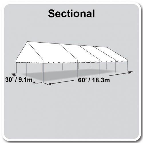 30x75 JumboTrac Frame Sectional