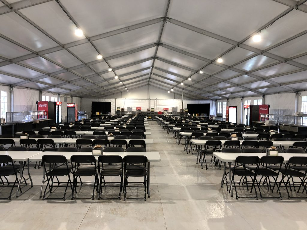 Commercial Structure Tent Rental