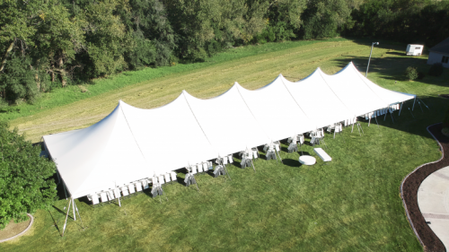 40x140 Canopy Tent