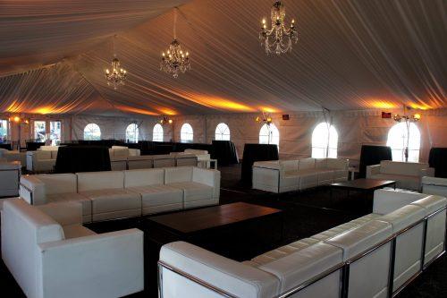 Wedding Structure Tent Sofas
