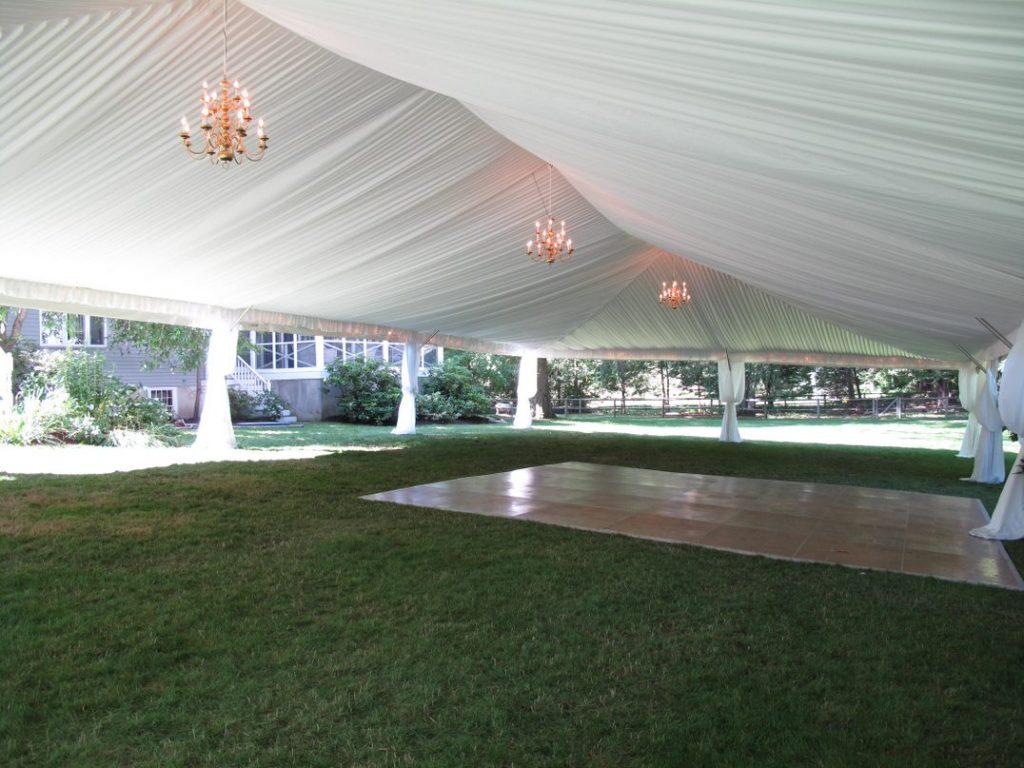 Drape Tent on Grass