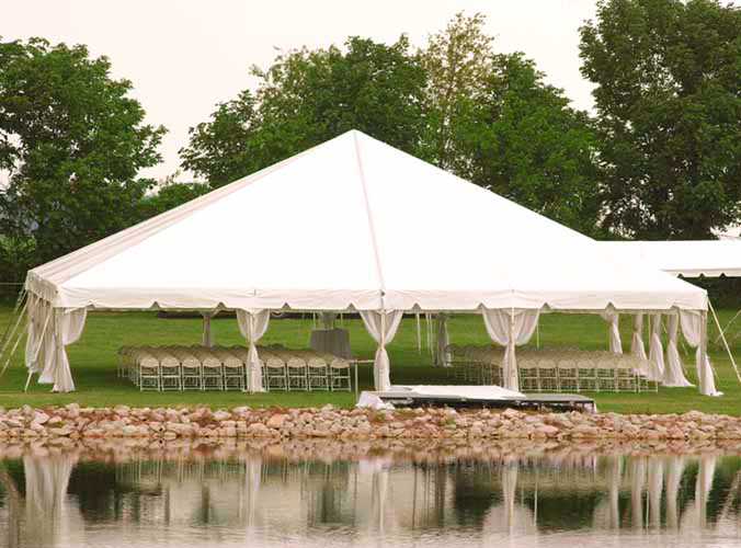 40x40 clear span frame tent