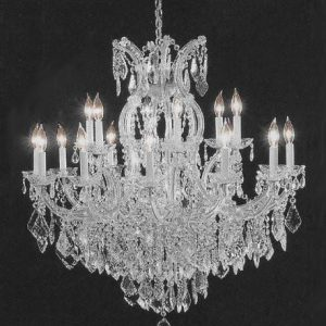 Crystal extravagant chandelier