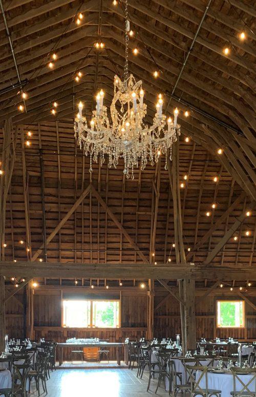 Indoor Extravagant Barn chandelier