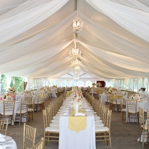 Wedding Tent Swags