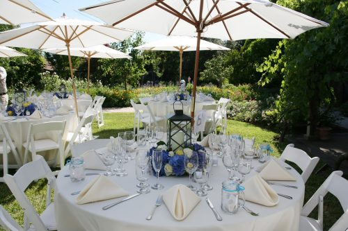 Outdoor Table and Umbrella rental