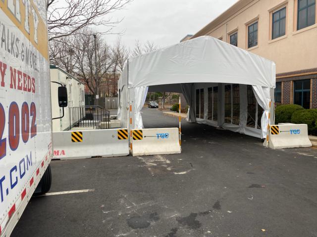 Drive-Thru Tent
