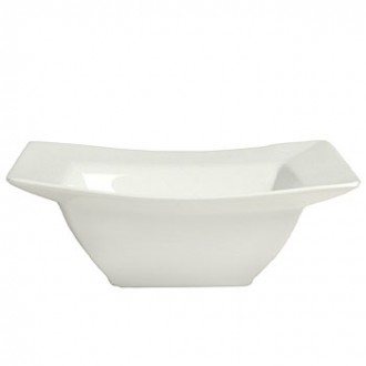 white square soup bowl