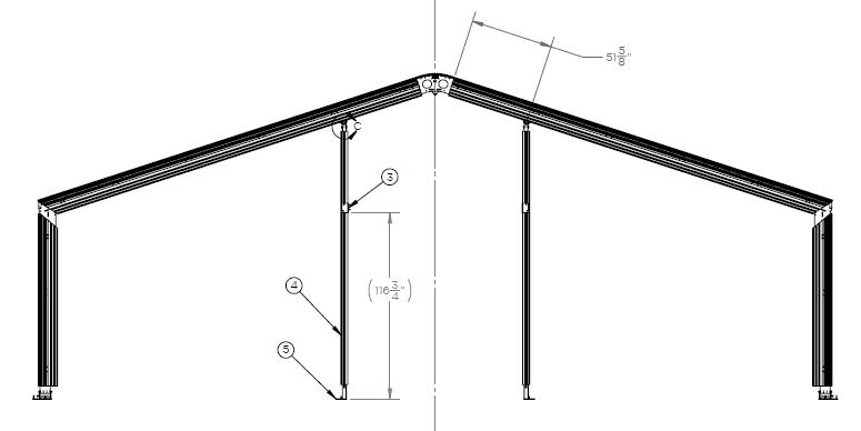 Drive-Thru Tent Dimensions