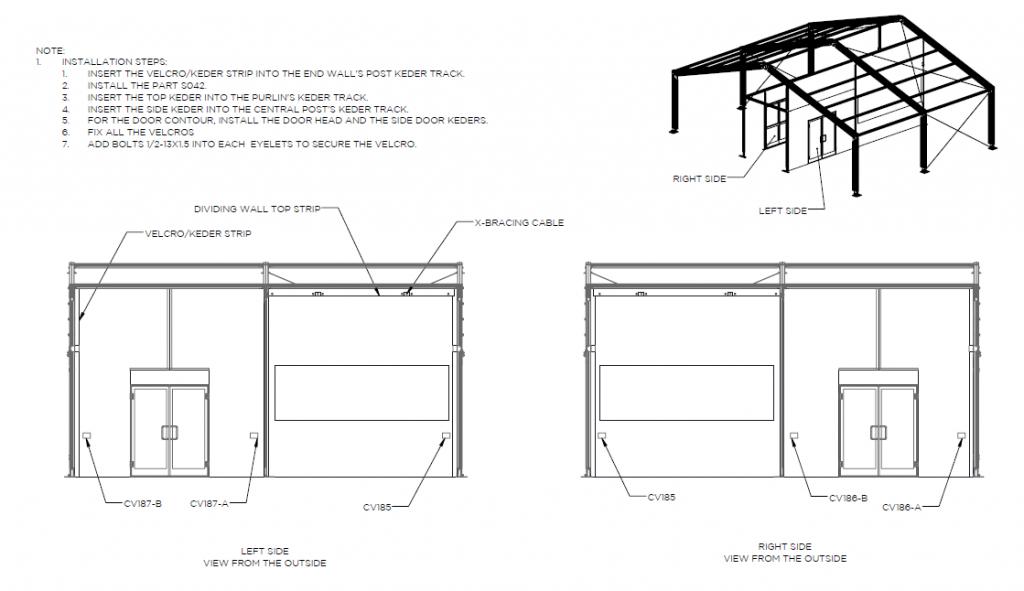 Drive-Thru Tent Installation