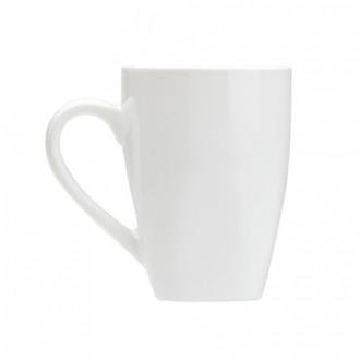 royal white coffee mug