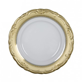 vanessa gold charger plate