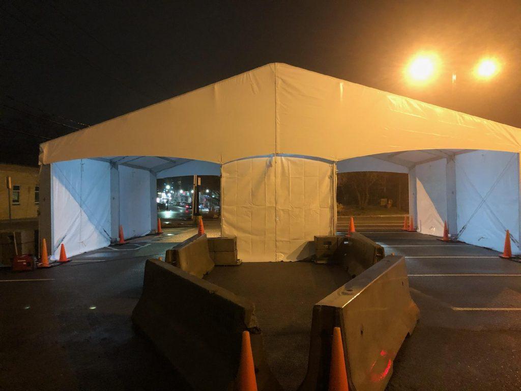 Drive Thru Structure Tent