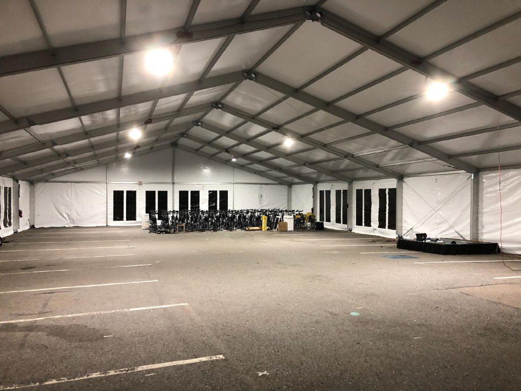 Structure Tent Parking Lot