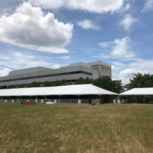 40 x 180 Frame Tent Event Concert Rental