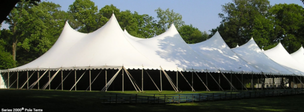 60ft Wide Pole Tent
