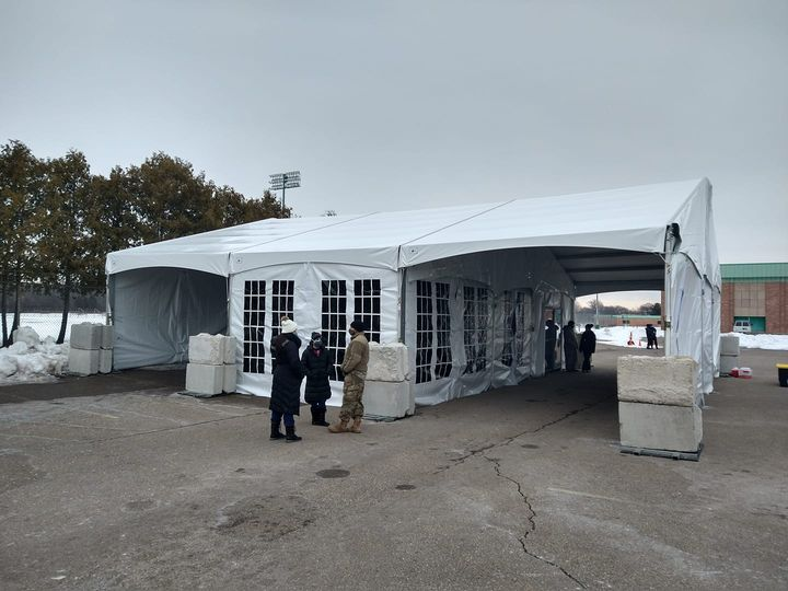 Vaccination Tent